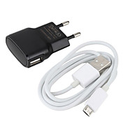 Euro Plug Charger for Samsung Galaxy S3 I9300 and Other Cellphone