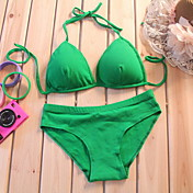 Lady No Wire Bikini Bra Set