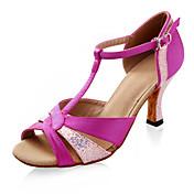 сатин / сверкающие блеском верхних латинских танцев туфли бальные туфли для женщин больше цветов