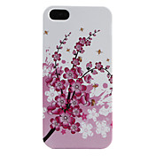 Plum Blossom Pattern Soft Case for iPhone 5
