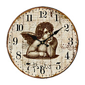 Country Angel Wall Clock