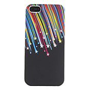 Meteor Shower Pattern Soft Case for iPhone 5