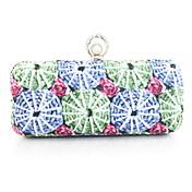 Великолепный PU с цветочным принтом Вечерняя сумочка / Муфты (больше цветов)