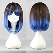 Brown and Blue Mixed Color 40cm Punk Lolita Wig