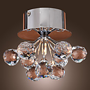 K9 Crystal Flush Mount in Floral Shape (G4 Bulb Base)