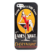 Ladies Night Pattern Hard Case for iPhone 5