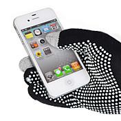 Тремя пальцами сенсорного смартфона с сенсорным экраном перчатки / Перчатки iPhone