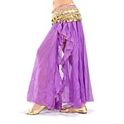 Women Chiffon Belly Dance Performance Skirt