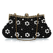 Unique Polyester with Beads Evening Handbag/Clutches(More Colors)