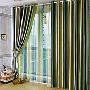 (Two Panels) Beautiful Gradients Color Shade Room Darkening Curtains