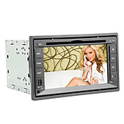 6.2 Inch 2DIN Car DVD Player with Bluetooth, RDS, DVB-T(MPEG2), GPS