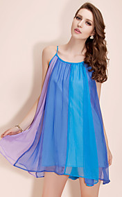 TS Color Block Chiffon Dress