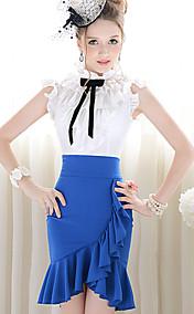 Pink Doll Ruffle Asym Hem Skirts