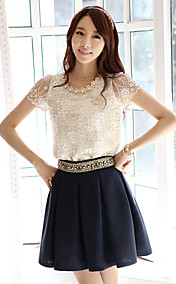 Women's Embroidery Lace Shirt