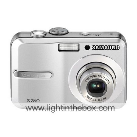 Samsung Digimax S760 7.2MP Digital Camera