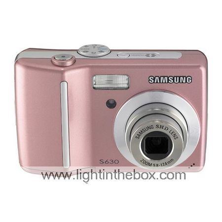 Samsung Digimax S630 rosa + 6.1mp fotocamera digitale spedizione gratuita