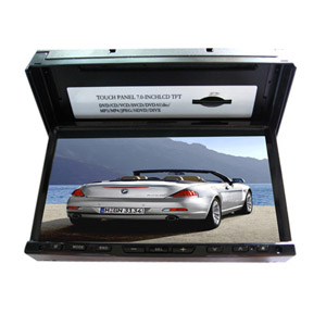 Pantalla táctil de 7 pulgadas 2 DIN In-Car Dash DVD Player TV, bluetooth, función RDS J-7681 (szc591)