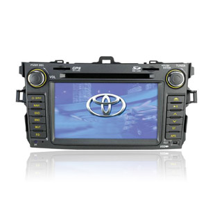 7-inch Touch Screen 2 Din In-Dash Car DVD Player For 2008-2009 Toyota Corolla with GPS Function