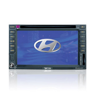 7-inch Touch Screen 2 Din In-Dash Car DVD Player For Hyundai Elantra with GPS Function