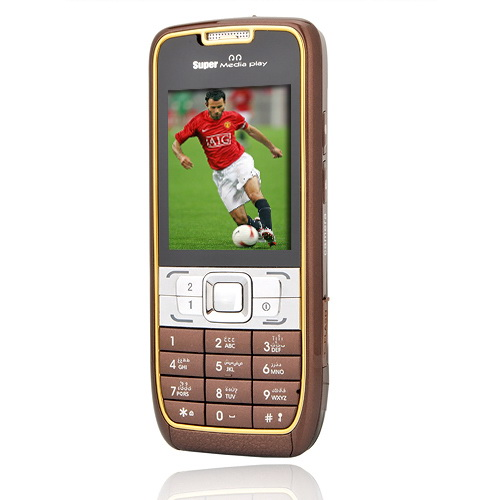 JINGCEN JC51 Dual Card Flat Screen  Cell Phone Coffee(SZRW298)