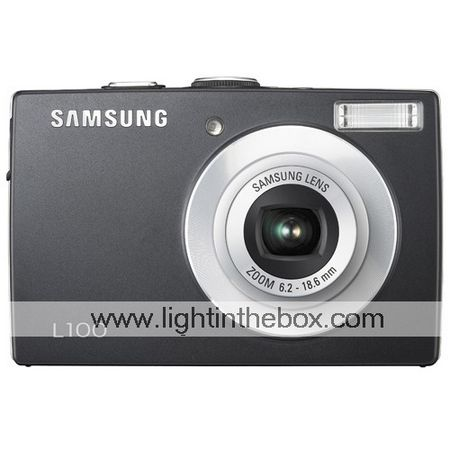 Samsung Digimax L100 8.3MP Digital Camera + 2GB SD Card + Extra Battery + 6 Bonus