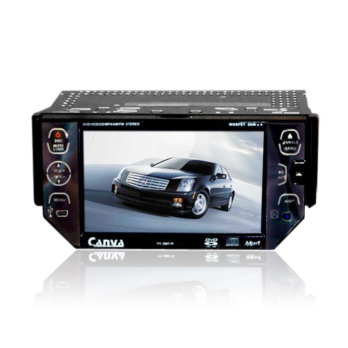 5.3-pulgadas, pantalla táctil 1 DIN Car DVD Player TV y función Bluetooth 53m01 (szc623)
