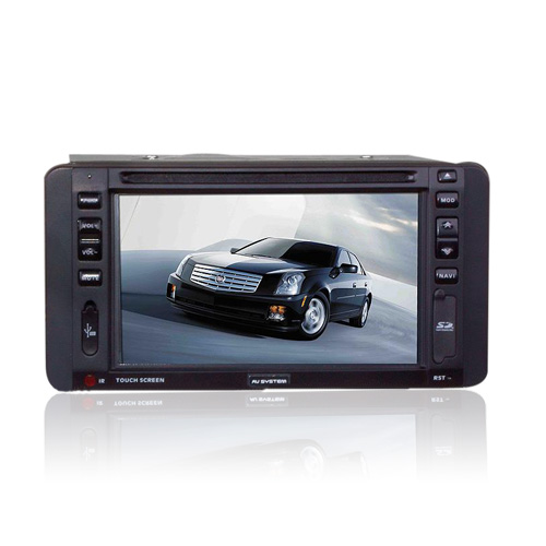 6.2-inch Touch Screen 2 Din In-Dash Car DVD Player TV and Bluetooth Function 930 (SZC637)
