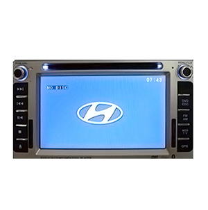 Car DVD Player FOR HYUNDAI NEW SANTA FE GPS Function (SZC459)