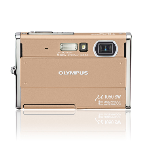 Olympus mju 1050 SW 10.7mp fotocamera digitale resistente alle intemperie con display LCD da 2,7 pollici (szw695)