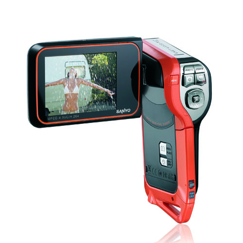 Sanyo Xacti VPC/DMX-CA8 8.0MP Digital Movie Camera with 2.5-inch LCD (SZW698)