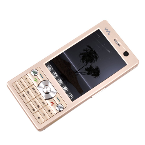 ZTC  ZT168  Dual Card Quad Band  Touch Screen TV Function Cell Phone Gold  (SZR575)