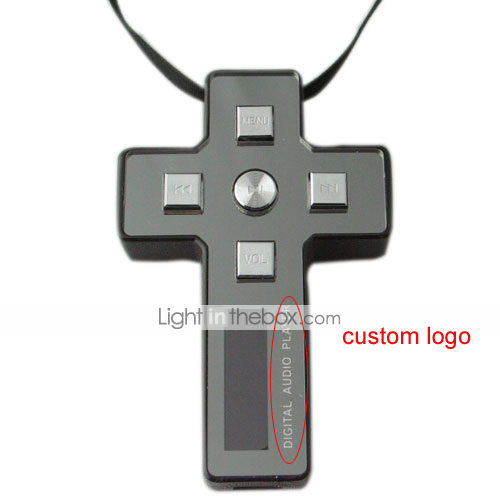 1GB/2GB/4GB Cross MP3 Player-Two Color LCD Display-Three Pieces Per Package (YYPD016)