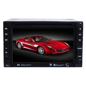 6.2-inch Touch Screen 2 Din In-Dash Car DVD Player TV and Bluetooth Function AK-6210B