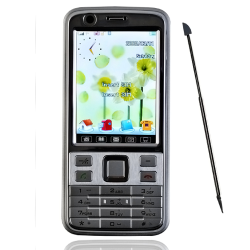 v66 Tri-Band Dual-SIM-Karte mit Bluetooth-Funktion cell phones (szr161)