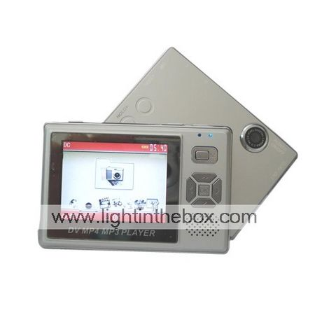 4GB 2.4-inch TFT Screen MP3/ MP4 Player with Digital Camera M4024 (Start From 5 Units) Free Shipping