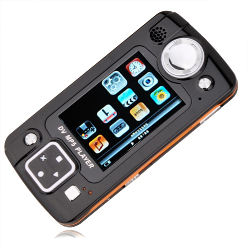 4GB 2.8-inch MP3/ MP5 Game Players With Digital Camera Black(SZM199)