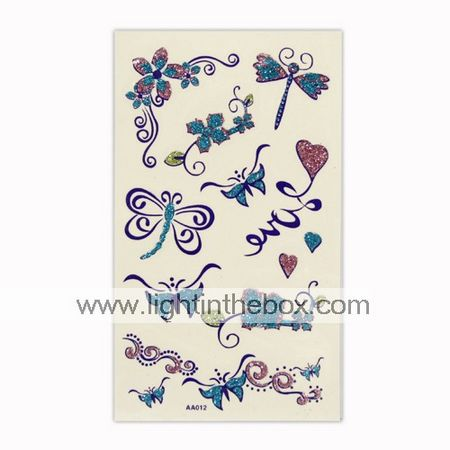 1 Temporary Tattoo Sheet are available for this item .