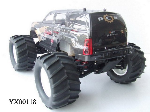 1:8 RC Nitro Gas truck 15CC Engine 4WD Remote Radio Control Truck. 60 km / hour