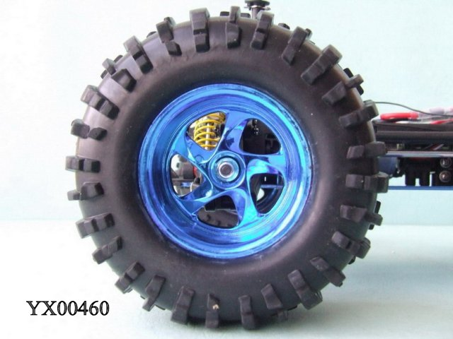 1:10 RC Land Overlord Nitro Gas Power Monster Truck RTR Fast 90MPH Radio Control Truck
