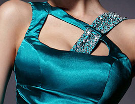 Trumpet/Mermaid Floor-length Sleeveless Stretch Satin Evening Dress