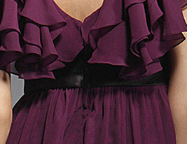 ILENE - Kleid fr Cocktailparty aus Chiffon