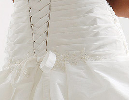 THALIA - Abito da Sposa in Taffet