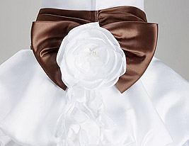 SOUTH DAKOTA - Robe de Communion Satin