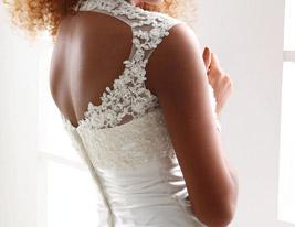 IVY - Abito da Sposa in Raso