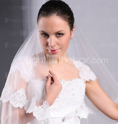 Trumpet/ Mermaid Square Court Train Satin Lace Wedding Dress