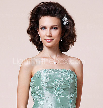 Sheath/Column Strapless Floor-length Taffeta Mother of the Bride Dress With A Wrap