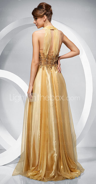 PAX - Kleid fr Abendveranstaltung aus Chiffon und Tll