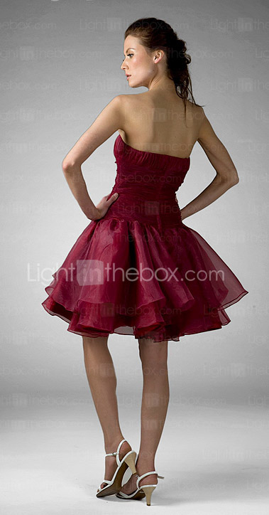 FARAH - Kleid fr Cocktailparty aus Organza