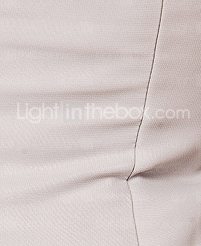 Sheath/Column One Shoulder Floor-length Chiffon And Stretch Satin Mother Of The Bride Dress