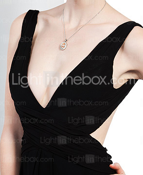 A-line V-neck  Floor-length Cannes Film Festival/ Evening Dress